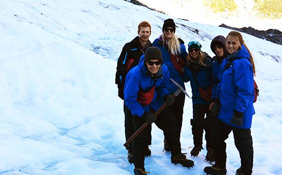 Glacier hike South Island
