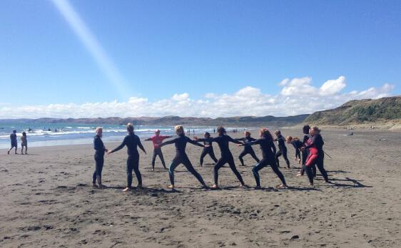 Intern Surf weekend trip