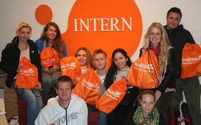 Interns during orientation New Zealand Internships