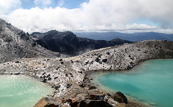 Internships in New Zealand Tongariro Crossing weekend trip