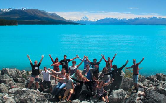 New Zealand Internships South Island trip