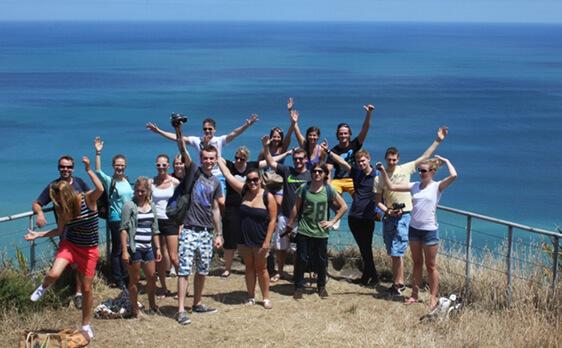 Piha day trip New Zealand Internships