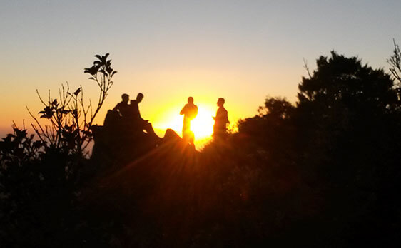Sunrise pinnacles hike