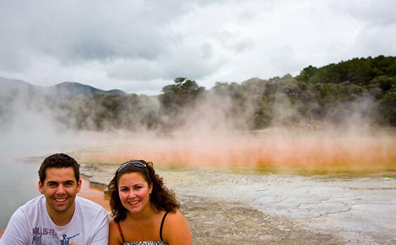 Thermal Wonderland Internships New Zealand trip