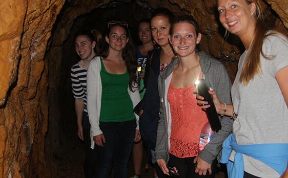 Thermal Wonderland New Zealand Internships trip