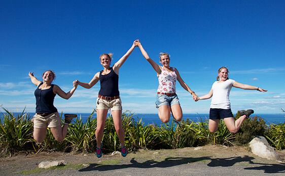 Thermal Wonderland weekend trip New Zealand Internships