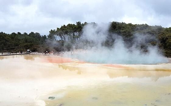Thermal wonderland with New Zealand Internships