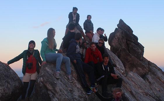 Top of the pinnacles hike