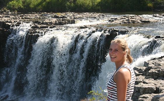 Waterfall Bay of Islands trip