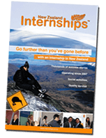 Internship New Zealand brochure
