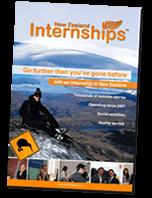 Internship New Zealand brochure